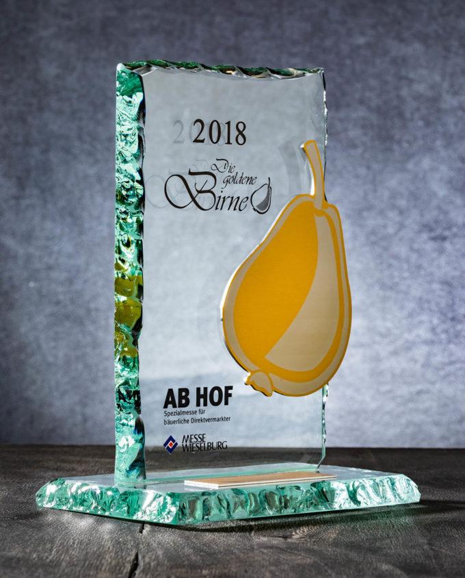 Die Goldene Birne - Auszeichung AB HOF Messe in Wieselburg © 2019 Werner Krug