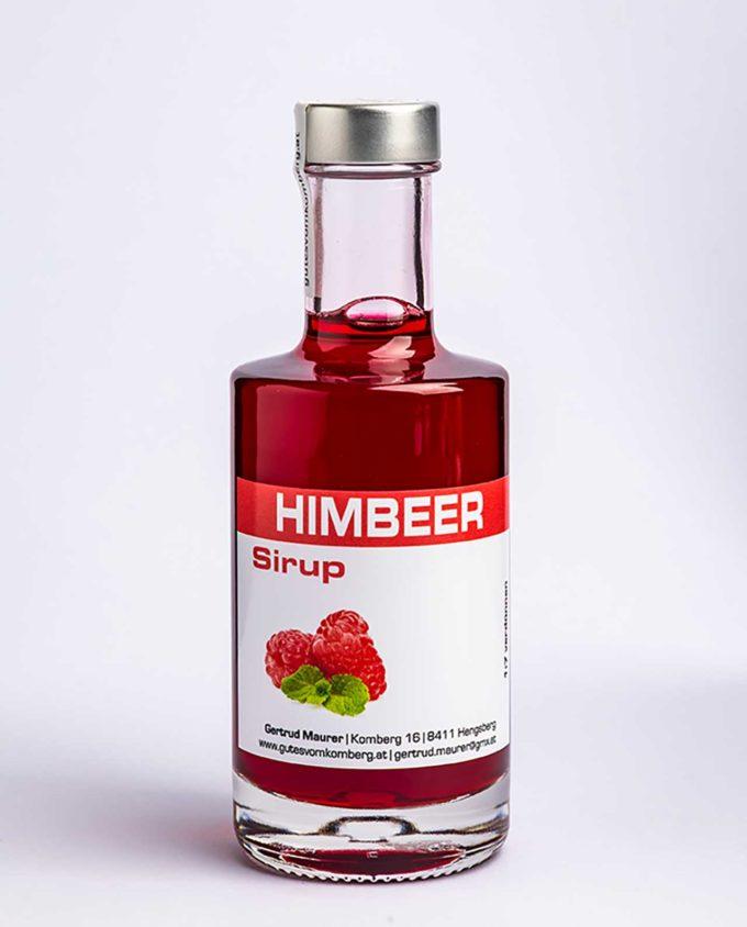 Himbeer Sirup © 2019 Werner Krug