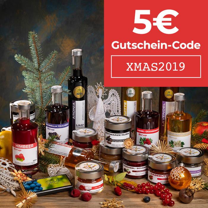 XMAS2019 - 5€ Gutschein